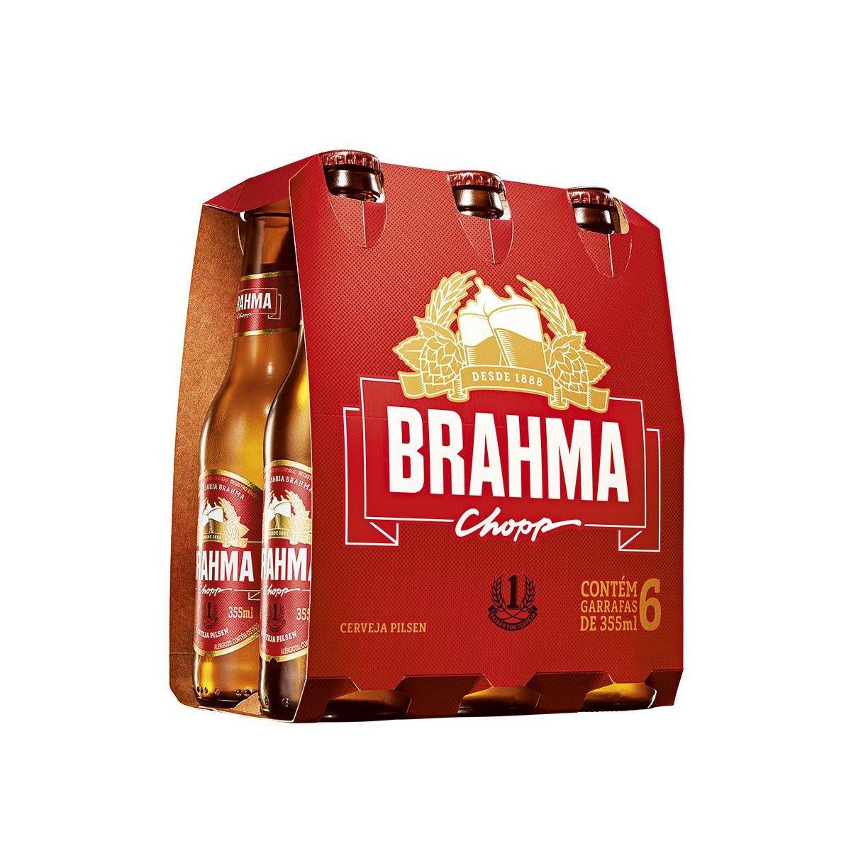 Cerveja BRAHMA Long Neck Garrafa 355ml. prev adda71f332