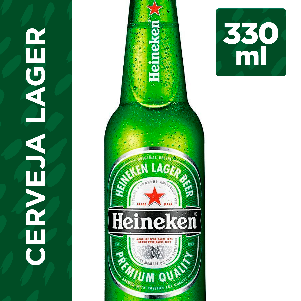 fc0bd6218a9a3 Cerveja HEINEKEN Long Neck Garrafa 330ml