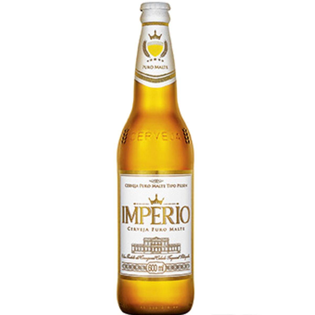 Conhecido Cerveja IMPÉRIO Puro Malte Garrafa 600ml MM05