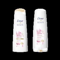 004d1a92a shopping_cart check_circle. + 1. Kit de Shampoo + Condicionador DOVE Ritual  Liso e Nutrido 400ml Cada